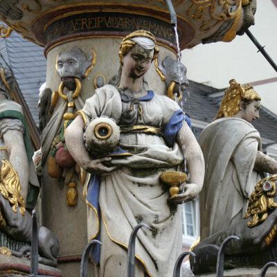 Trier. Marktbrunnen