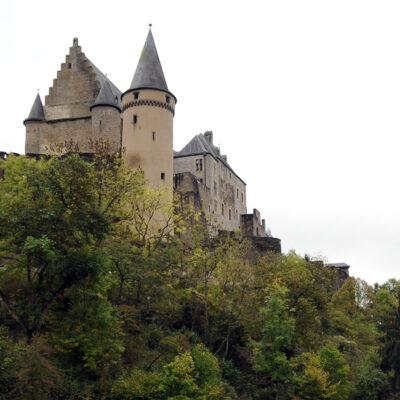 Luxemburg. Burg Vianden